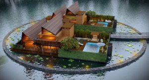 KAF Architects Bangalore 01. FORTUNA RESORT