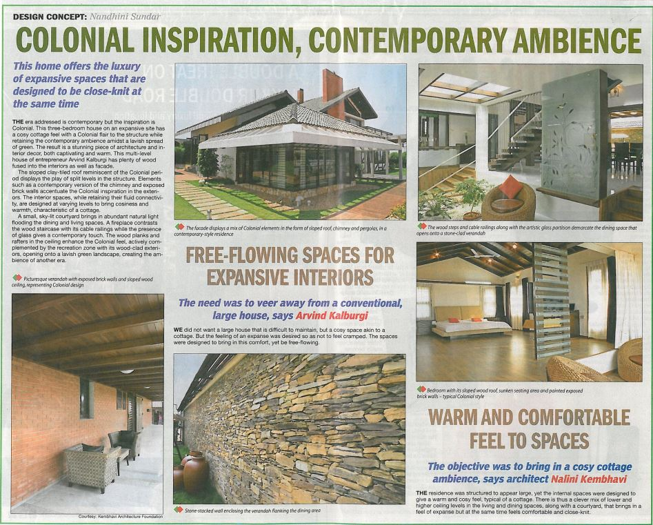 Times Of India | Kembhavi Architects Bangalore | Hubli