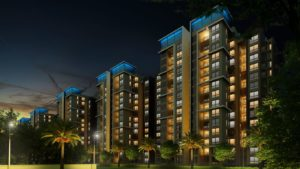 KAF Architects Bangalore NIGHT VIEW_1