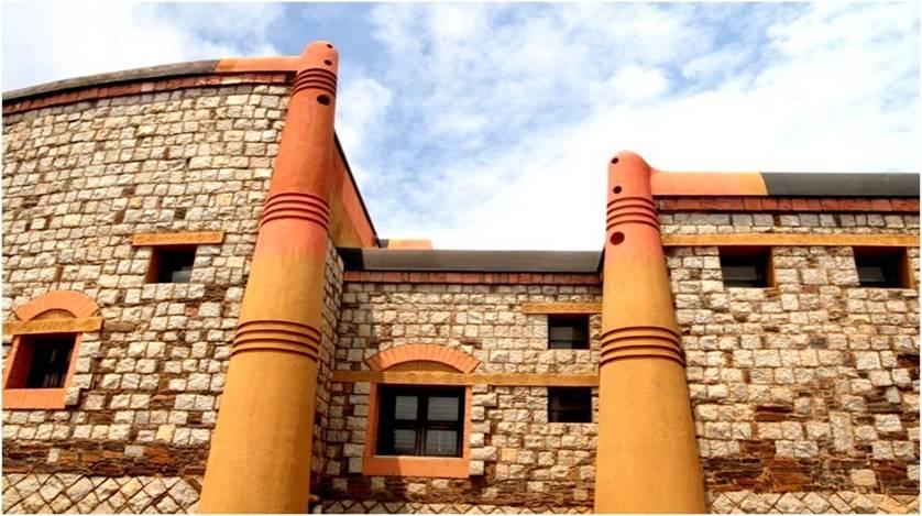 Institute Of Naturopathy And Yogic Sciences | Kembhavi Architects Bangalore | Hubli