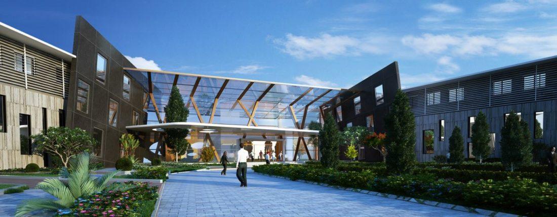 KAF Architects Bangalore SBIOA Institutional Campus