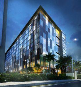 KAF Architects Bangalore night view 2