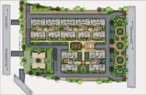 KAF Architects Bangalore 01. SITE PLAN