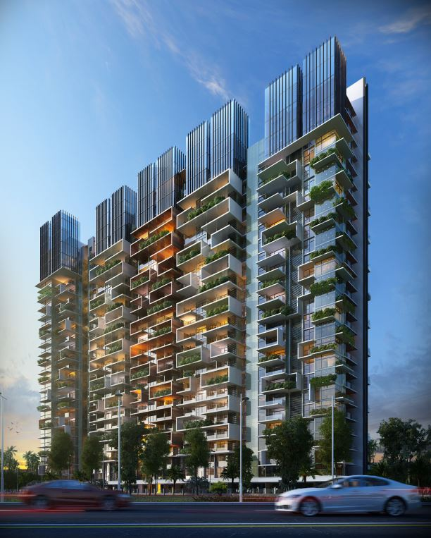 Picasso Tower | Kembhavi Architects Bangalore | Hubli