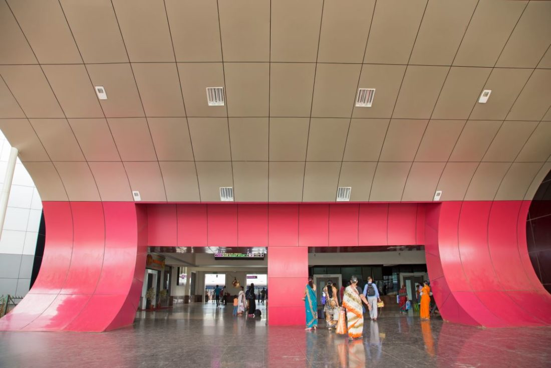 Hubli Railway Station | Kembhavi Architects Bangalore | Hubli