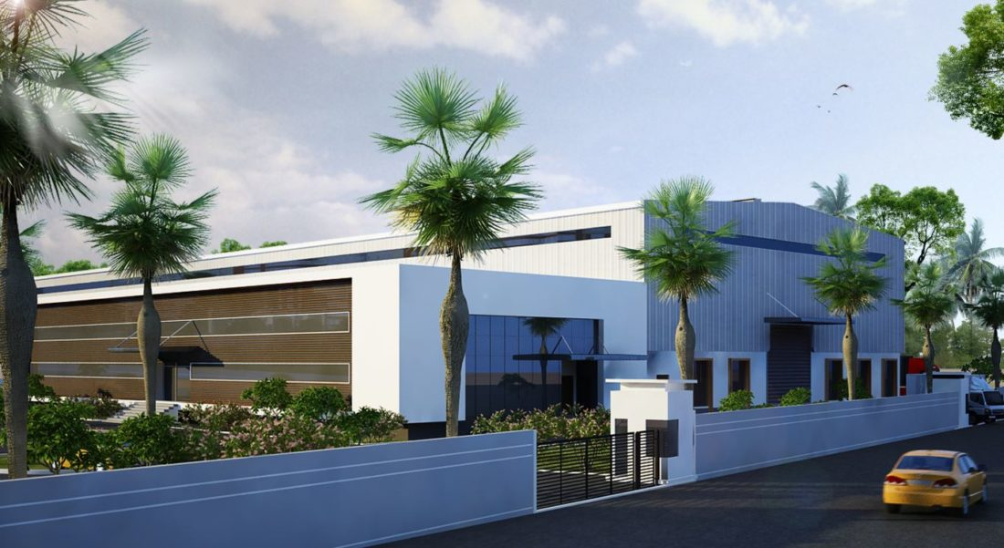 KAF Architects Bangalore Turbo Machinery Repair Facility
