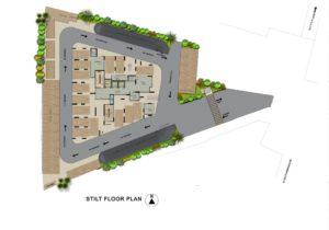 KAF Architects Bangalore STILT FLOOR PLAN 4-10-16