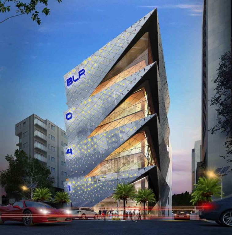 KAF Architects Bangalore Sumo Commercial Development