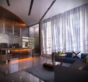 KAF Architects Bangalore lobby_