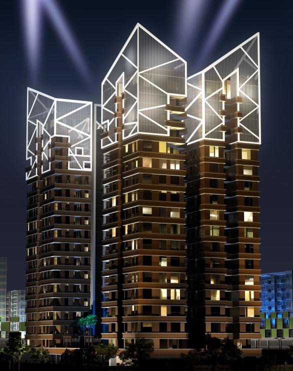 Landmark Vertica | Kembhavi Architects Bangalore | Hubli