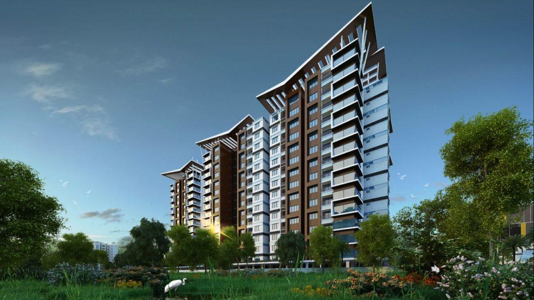 KAF Architects Bangalore RWD Grand Corridor