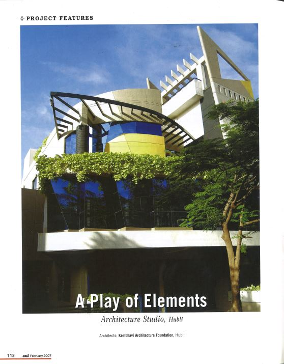 A Play Of Element | Kembhavi Architects Bangalore | Hubli