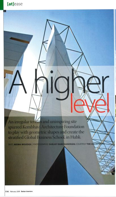 A Higher Level | Kembhavi Architects Bangalore | Hubli
