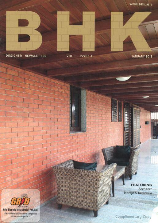 Contemporary style can be warm too - BHK | Kembhavi Architects Bangalore | Hubli