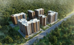 KAF Architects Bangalore aerial view