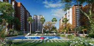 KAF Architects Bangalore pool view