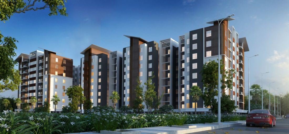KAF Architects Bangalore Unishire Group Housing
