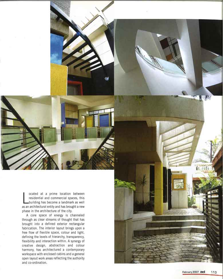 A Play Of Elements | Kembhavi Architects Bangalore | Hubli