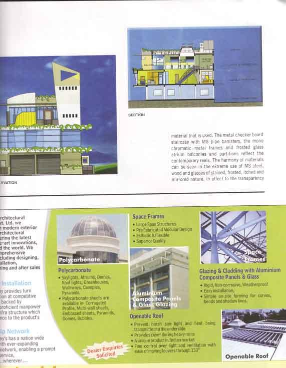 A Play Of Elements Magazine | Kembhavi Architects Bangalore | Hubli