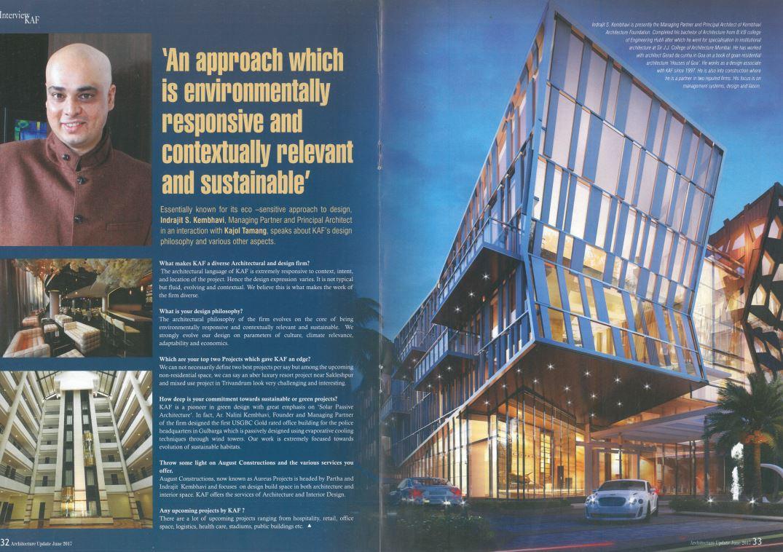 AU Update | Kembhavi Architects Bangalore
