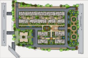 KAF Architects Bangalore 01. SITE PLAN