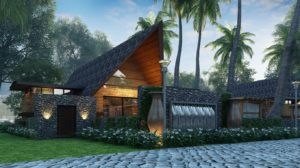 KAF Architects Bangalore VILLA3 _FRNT