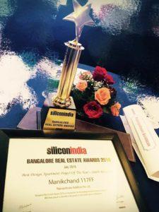 KAF Architects Bangalore silicon india - bangalore real estate awards 2016