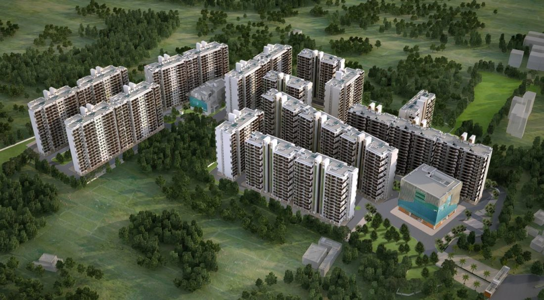 KAF Architects Bangalore SBIOA Unity Enclave