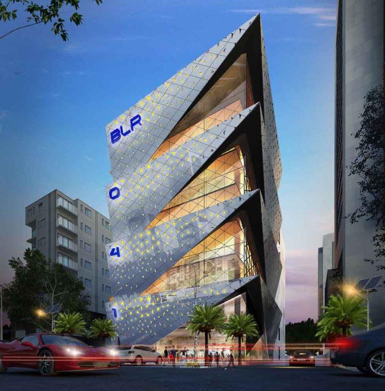 KAF Architects Bangalore Sumo Commercial Development