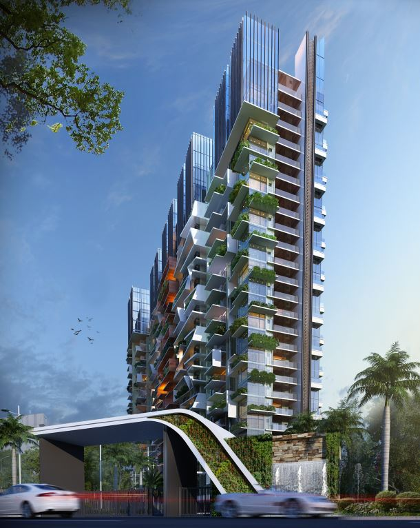 KAF Architects Bangalore Picasso Tower