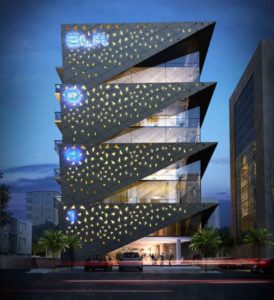 KAF Architects Bangalore front night_fnl
