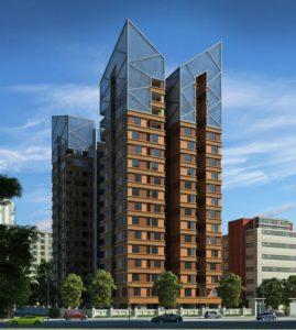 KAF Architects Bangalore landmark vertica at chennai
