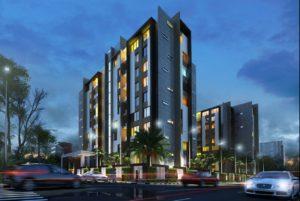 KAF Architects Bangalore night