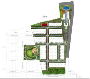 KAF Architects Bangalore siteplan