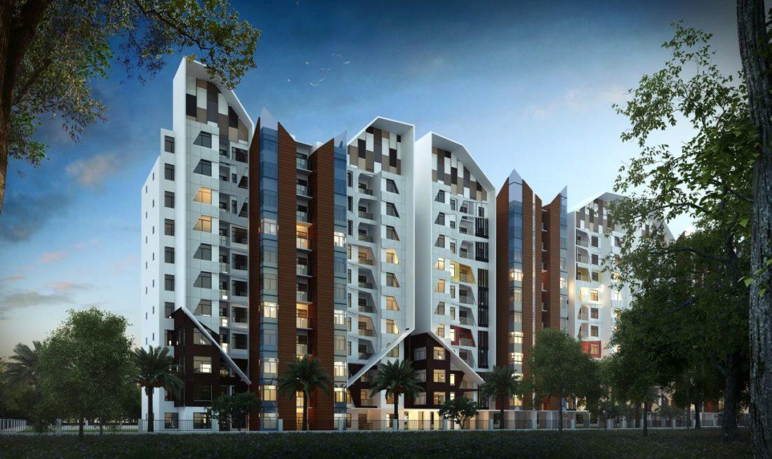 KAF Architects Bangalore Unishire Elan