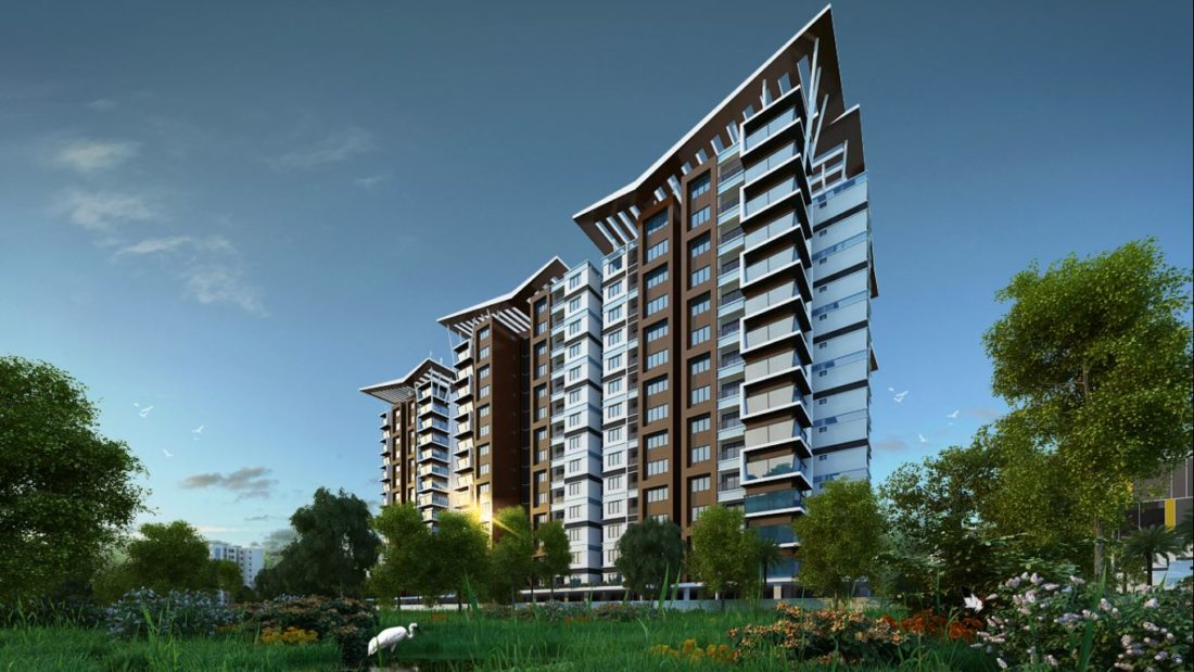 KAF Architects Bangalore RWD Grand Corridor