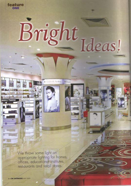 KAF Architects Bangalore Bright Ideas CW Interiors