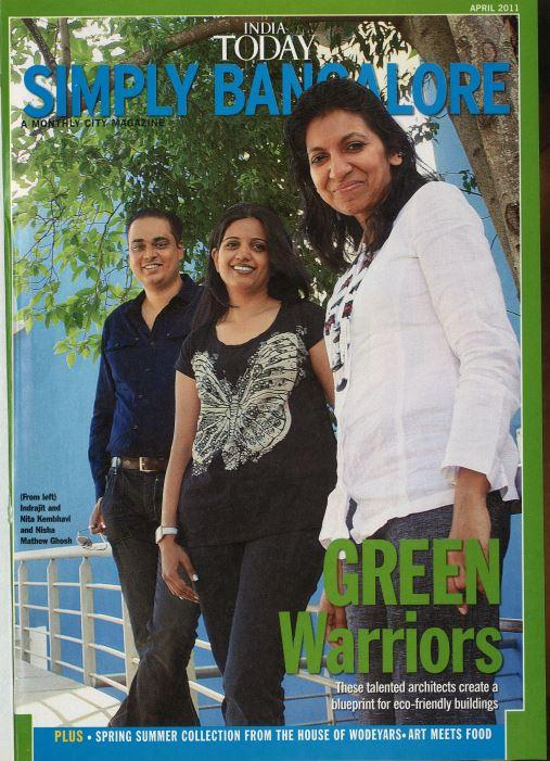 KAF Architects Bangalore India Today - Green Warriors