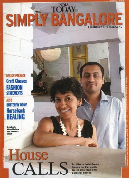 KAF Architects Bangalore India Today Simply Bangalore - Simple Pleasures