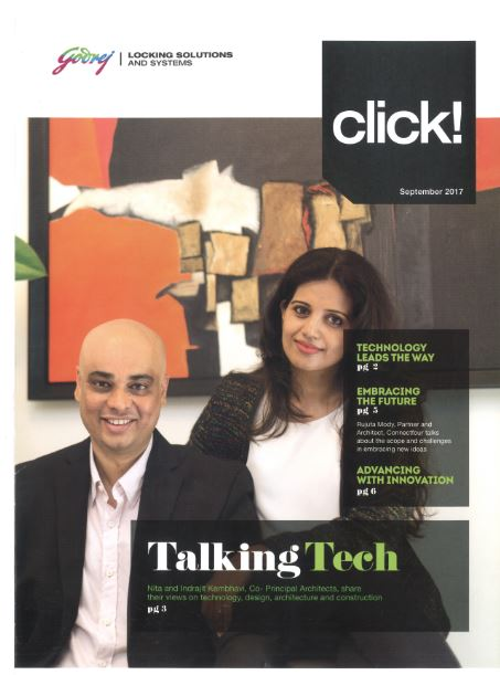 KAF Architects Bangalore Talking Tech - CLICK, GODREJ