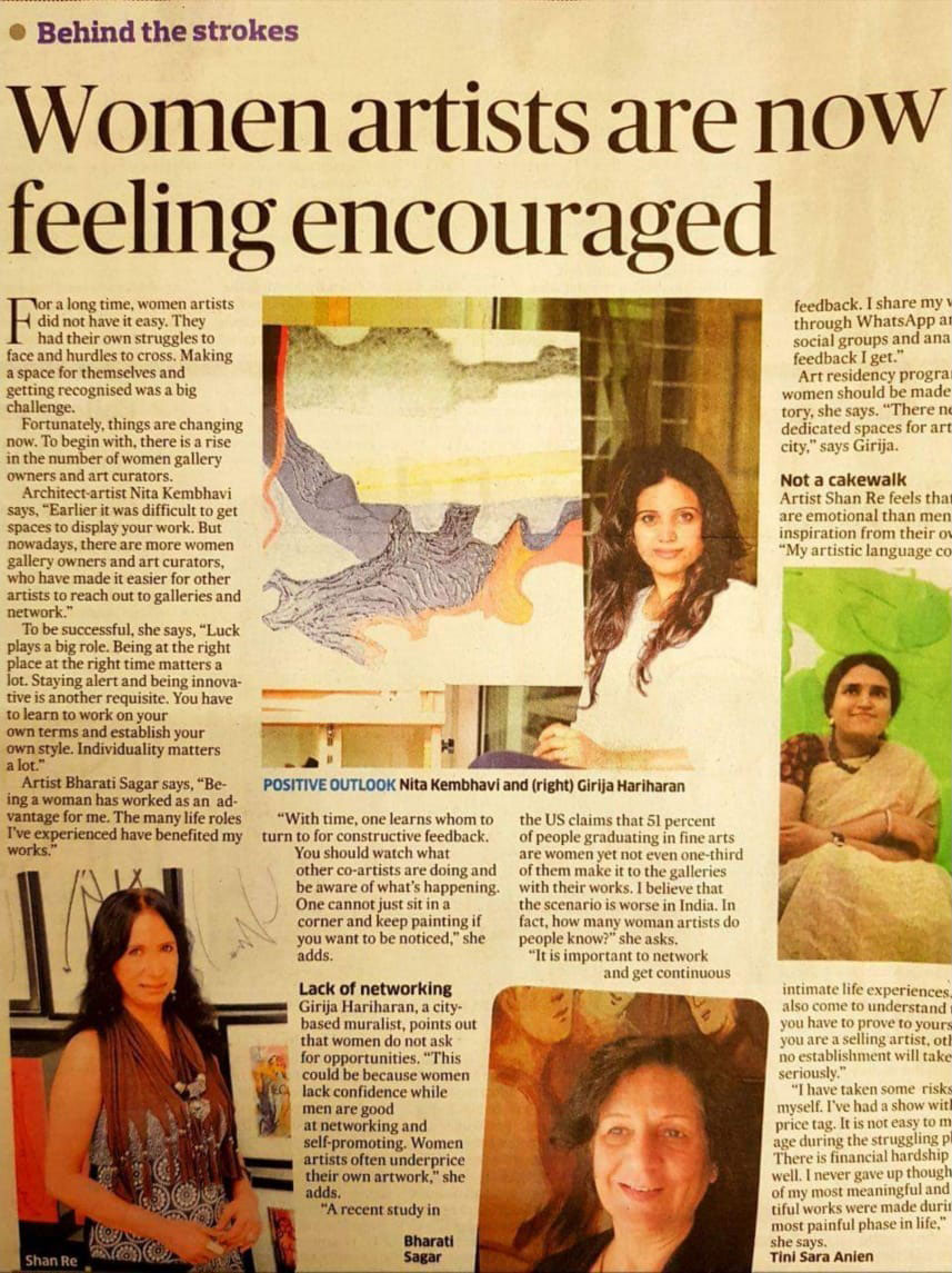 KAF Architects Bangalore Women artists are now feeling encouraged